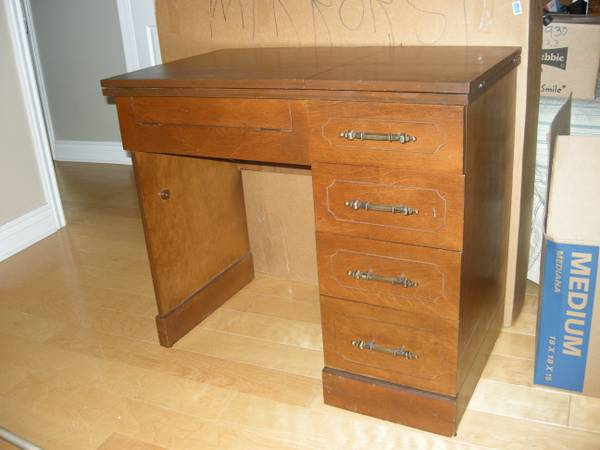 Sewing Machine Cabinet - $45 (Lakeview New Orleans)