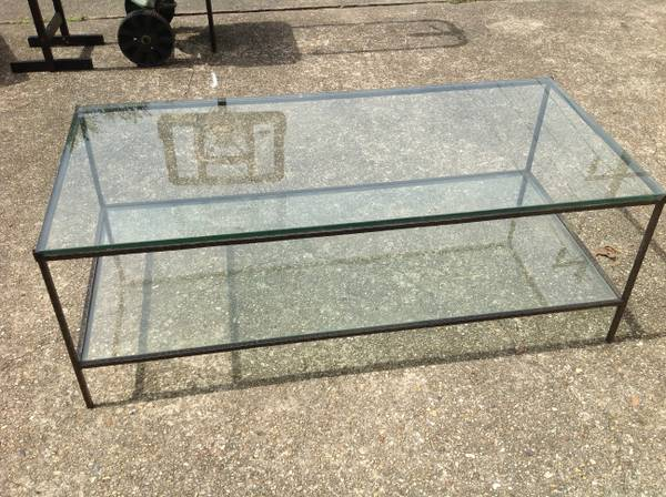 Crate and barrel Coffee table - $30 (Baton Rouge)