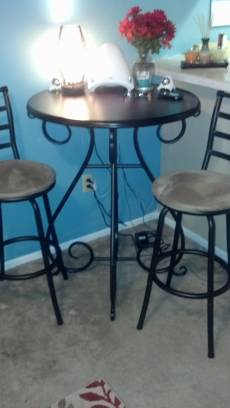 Pier One Imports Bistro Table - $150 (Baton Rouge)