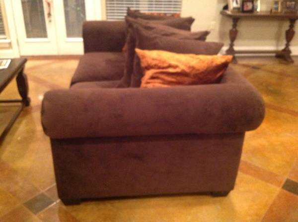 Z Gallerie Linden sofa and chair - $550 (Plaquemine)