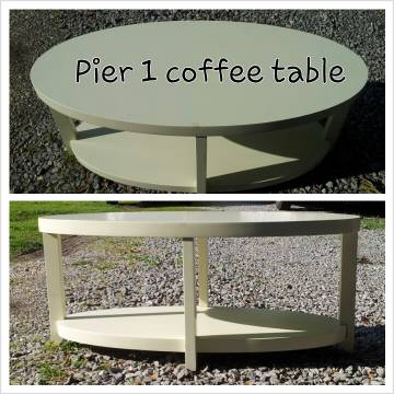 Pier One Coffee Table - $160 (Gonzales)