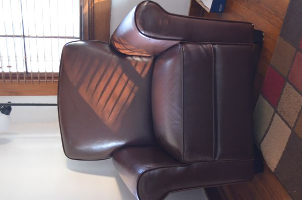 Leather Chair - $200 (70808)