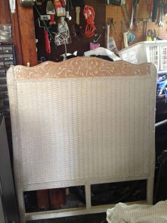 Pier One Twin Headboard from the Jamaican Collection - $20