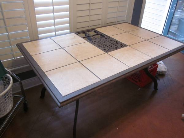Removable Square Tile Patio - Kitchen Table Designer Nice Design CHEAP - $100 (Hammond Ponchatoula)