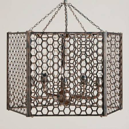 Cost Plus World Market Honeycomb Chandelier - $165 (Baton Rouge)