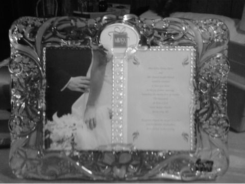 Crystal Mikasa picture frame - $125 (225-573-9589)