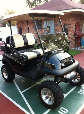 2008 Custom lifted Club Car Golf Cart - $3800 (Gonzales, LA)