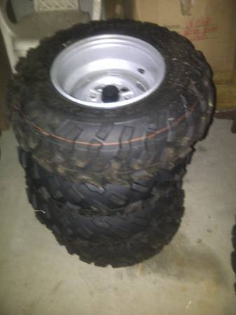 New Factory Take Off Tires and Wheels Honda Foreman 500 - $325 (Loranger Louisiana)