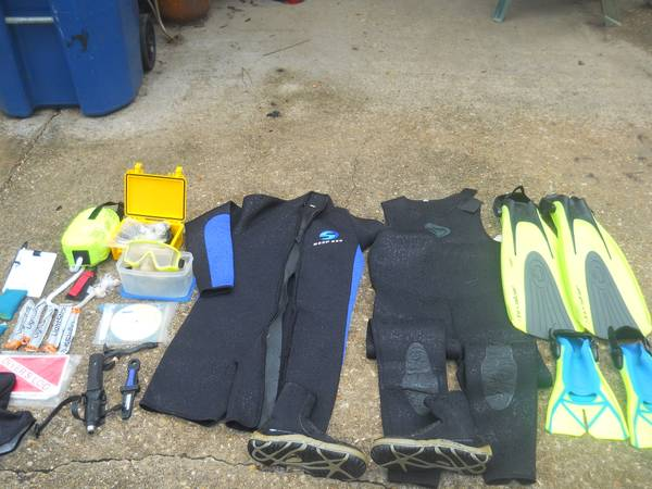 Huge Lot of Professional Scuba Gear Set - $349 (Denham Springs, LA)