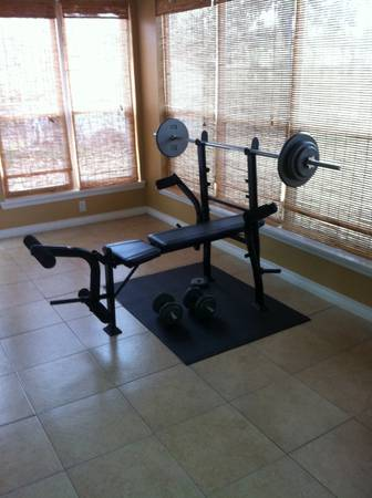Exertec Fitness Weight Bench  - x0024120