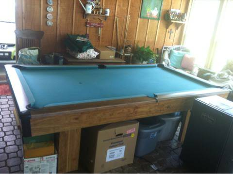 Brunswick Bristol 2 pool table - $600 (Baton rouge)