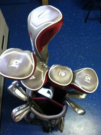 Lady Hagen Golf Clubs and Nike Golf Shoes - $200 (Gonzales)