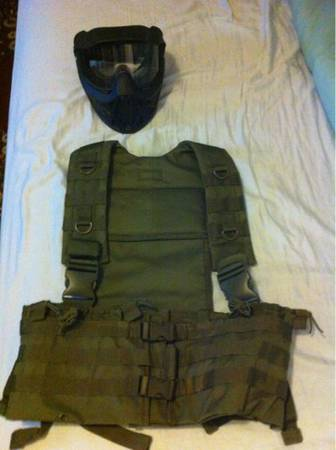 Tactical assault vest - $20 (Denham Springs)