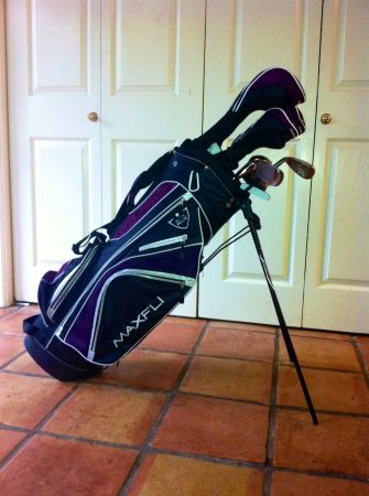 Unused.. Practically New, Maxfli Womens Black Max Golf clubs - $200 (Baton Rouge )