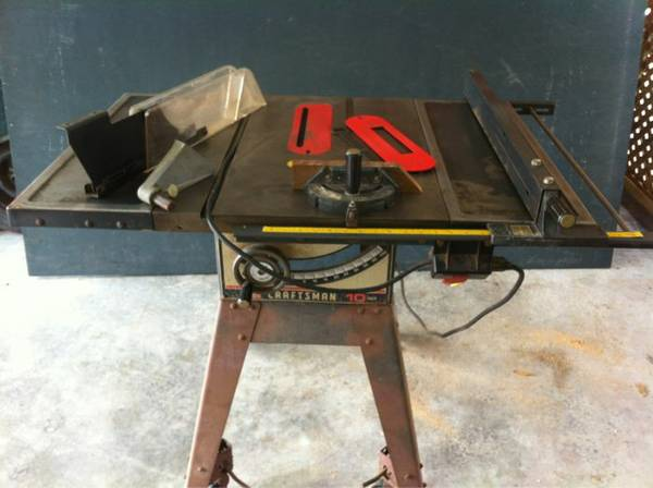Table saw 10 Sears Craftsman - $100 (South Baton Rouge)