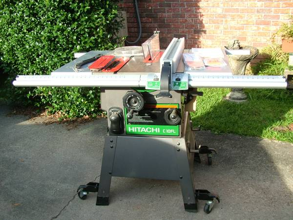 Hitachi C10Fl 8 Table Saw with improved fence and many extras - $475 (Denham Springs, LA)