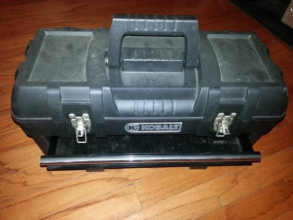 Kobalt 3 drawer portable tool box - $20 (Central)