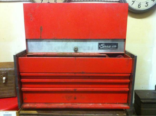Vintage Snap On Tool Box NEW PRICE - x002480 (Florida Blvd Flannery)