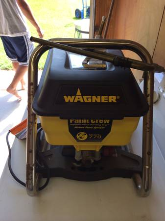 Wagner Paint Crew Model 770 New Condition - $115 (Watson )