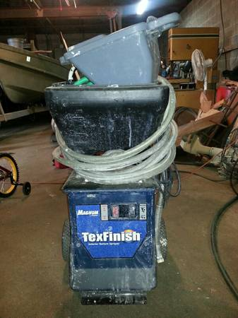 Magnum TexFinish Interior Texture Machine - $350 (Baton Rouge)