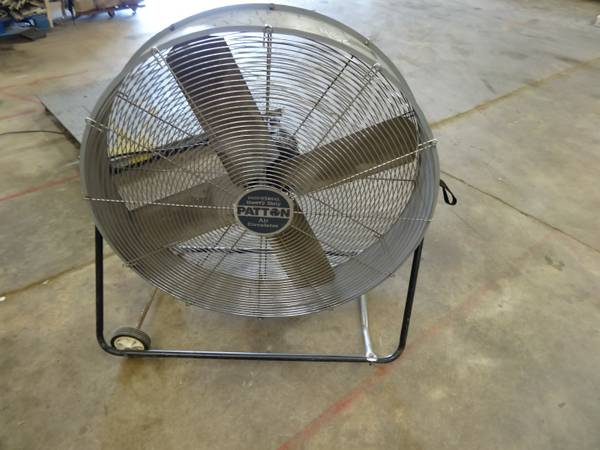 Patton 36 High Velocity Industrial Heavy Duty Air Exhaust Fan - $100 (Baton Rouge, LA)