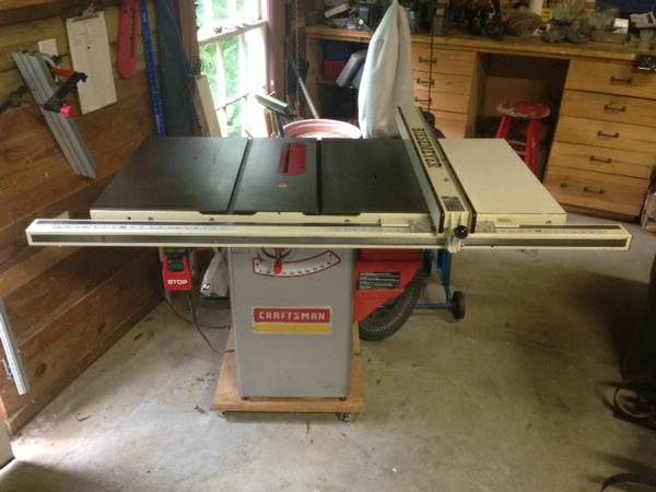 Craftsman Professional Table Saw 1.75 hp - $600 (Mid-City)