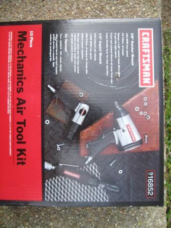 Craftsman 10 piece Air Tool Kit - $60 (Baton Rouge)
