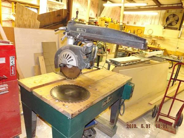 14 Dewalt radial arm saw - $700 (Abita Springs, LA)