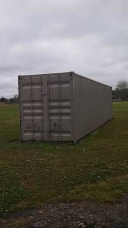 20 or 40  Seacans Portable Shed Buildings,built on skids (14546 Airline Hwy Gonzales La 225-622-3399)
