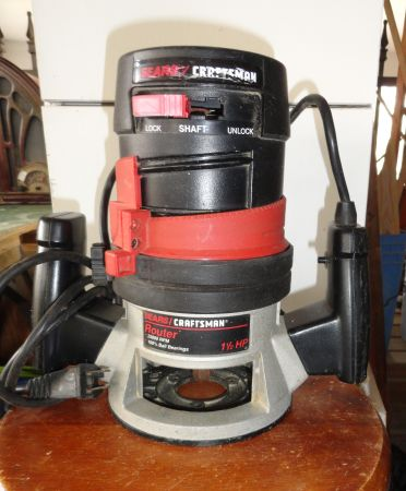 Craftsman 1 12 HP Router - $30 (Shenandoah Ave)