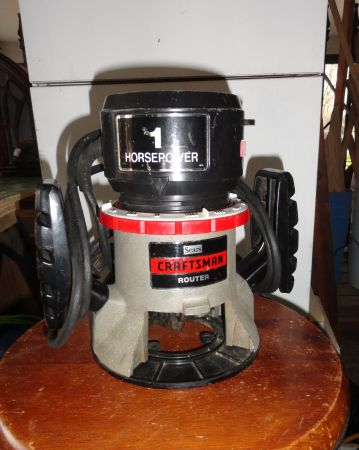 Craftsman 1 HP Router - $25 (Shenandoah Ave)