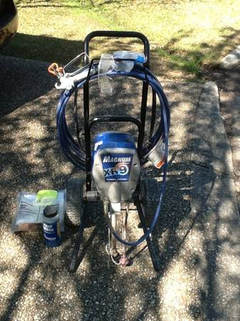 Magnum XR9 Airless Paint Sprayer - $200