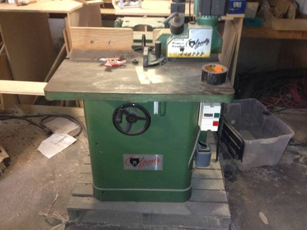 Grizzly shaper with power feeder - $500 (baton rouge)