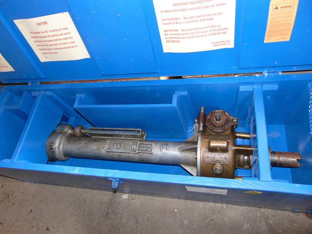Mueller C1 Drilling Machine - Wachs Hydraulic Traveling Pipe Cutter - AUCTION  FOR SALE