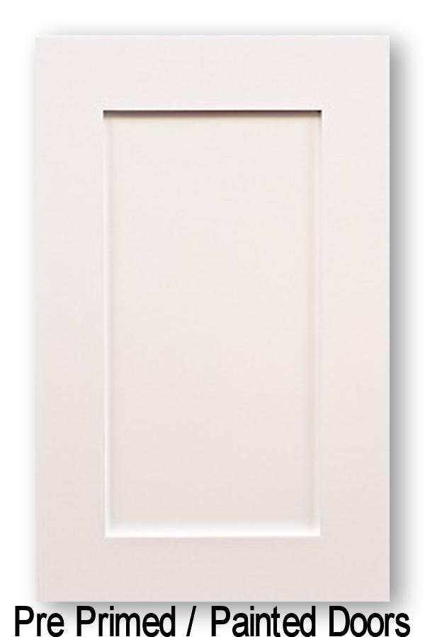 Pre-Primed Shaker Style Wood Kitchen Cabinet Doors Starting At  21 58