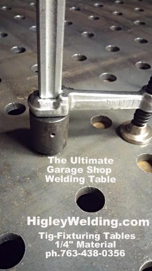 Welding Tables For Sale-Mig-Tig-Made In Small USA Shop