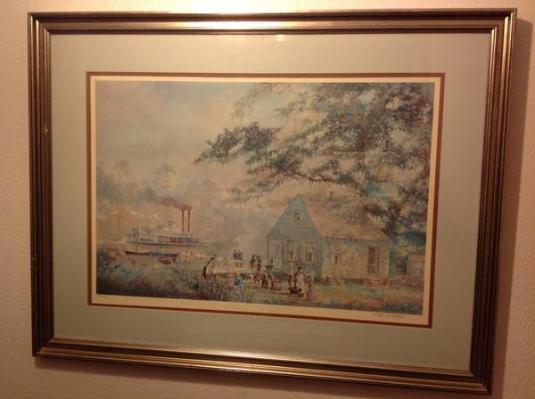 Robert Rucker signed and numbered art - x0024150 (Lake at white oak)