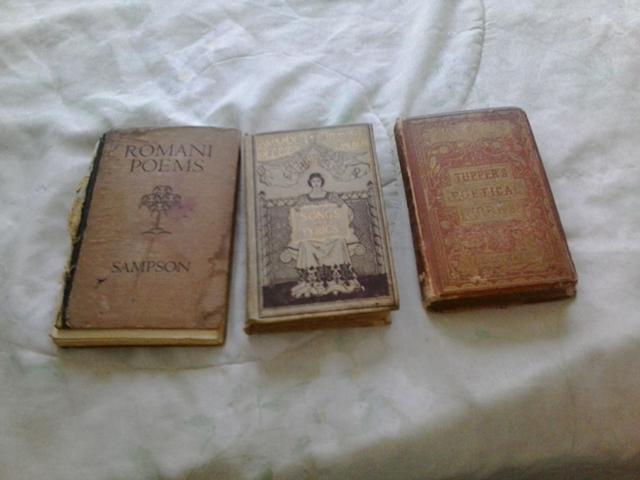 25  antique books