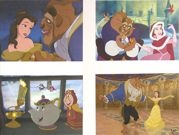 Beauty and the Beast Lithograph set - $20 (Baton Rouge)