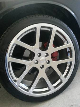 22 inch viper replica wheels for challengerchargermagnum300c