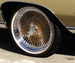 20 inch daytons vogues (center gold) - $1600 (Baton Rouge)