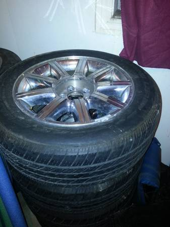 CHRYSLER 300 STOCK RIMS AND TIRES FOR SALE - $600 (Lutcher, LA)