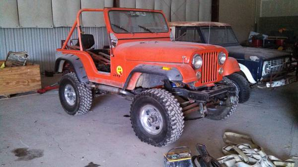 parting out 1977 Jeep CJ5 - $1 (Searchers 4wd in Prairieville)
