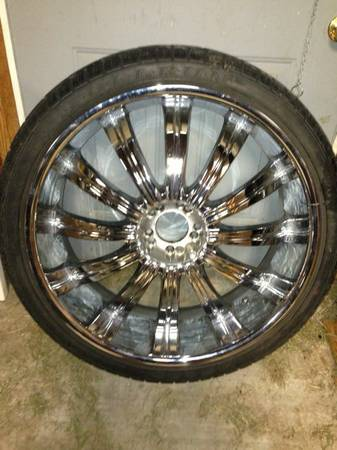 26 inch rims  trade or sell  - $1800 (Baton rouge )