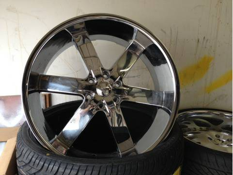 24 U2-55 wheels - $450 (Baton Rouge)