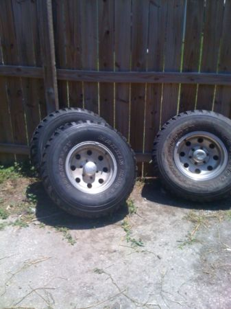 15x8 Eagle Aluminum 6-Lug Chevy Wheels - $200 (Prairieville)