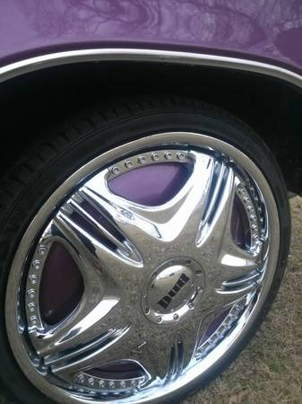 DUB floaters 22 inch rim and tires - $900 (Hammond la)