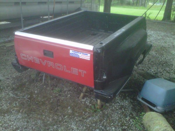 Stepside bed Chevy with tailgate - $300 (Central City, LA)