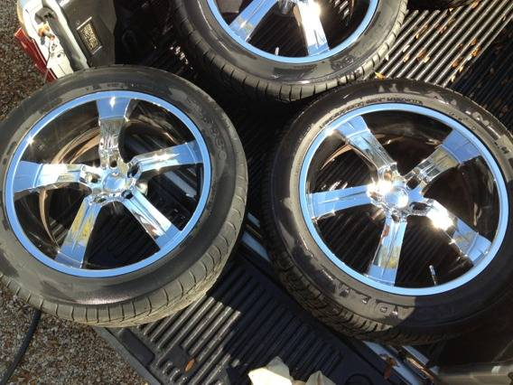 22 Vagare Wheels Rims wGreat Tires - $1200 (Denham Springs)