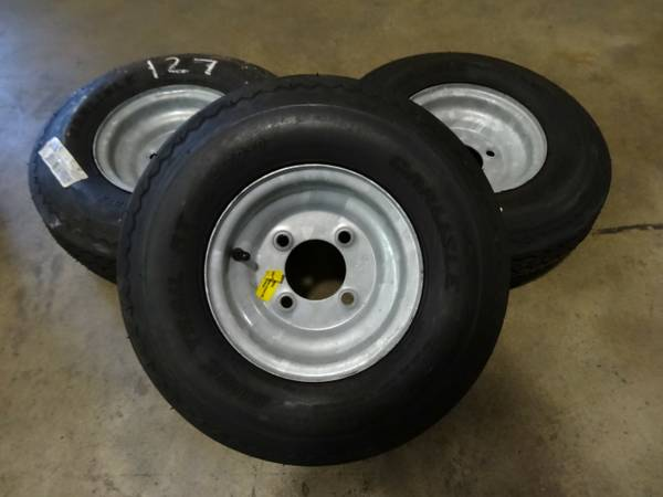 3 Trailer Tires NEW Carlisle Sure Trail ST 5.70-8 Tubeless - $75 (Baton Rouge, LA)